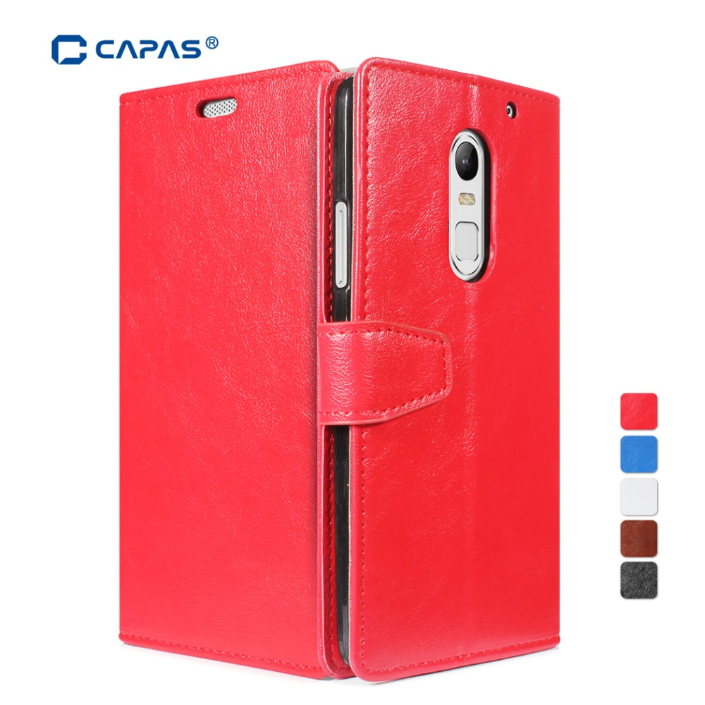 Wallet Leather Case for Lenovo Vibe X3 Hybrid Cover Flip Shell with Card Slot Holder for Lenovo Vibe X3 Phone Cases Red Brown(China (Mainland))