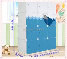 Combination of plastic wardrobe simple wardrobe bedroom wardrobe lockers(China (Mainland))
