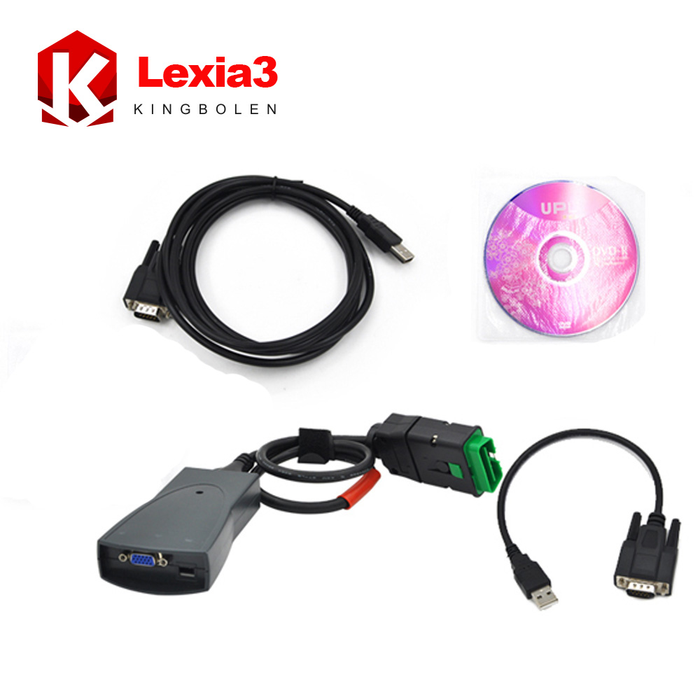 2016 Newly hot selling lexia 3 pp 2000 For citroen/peugeot Professional diagnostic tool Lexia-3 Free Shipping(China (Mainland))