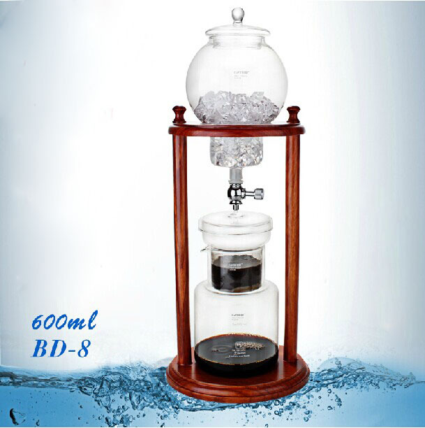 1 PC Free Shipping Hot Sell BD 8 Ice Drip Cold Brewer Dripper Janpanese Style Drip