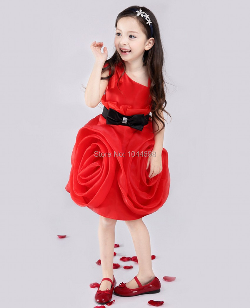 Red And Black Dresses For Girls