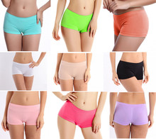 2016 New Girl Girls Women Lady Sports Sexy Boxer Shorts Safe Pants Underpants Cute Panties Underwear Boyshort Lingerie Clothing(China (Mainland))