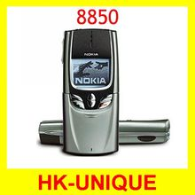 HK post free shipping 8850 Unlocked Original Nokia Refurbished 8850 Cell Phone Wholesale  In STOCK Russian language