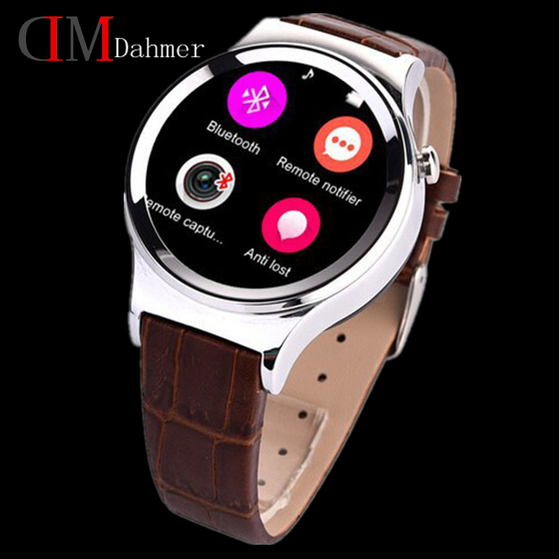 Фотография 2015 Newest Smart Watch DM11 Smartwatch Support SIM SD Card Bluetooth GPS SMS MP3 MP4 USB For Android and iphone Fast Shipping