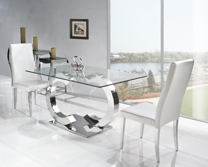 Acquista all 39 ingrosso online tavolo in vetro di alta da for Tavolo salone moderno