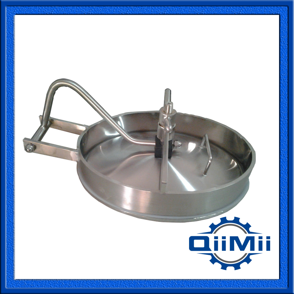 430x330mm SS316L Oval manways ;Sanitary Manhole Cover,Stainless steel manway(China (Mainland))