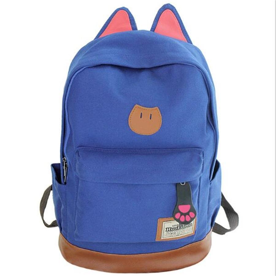 new-cat-ear-cartoon-canvas-backpack-for-women-girls-satchel-school-bags-cute-rucksack-school-backpack-children-school-book-bags