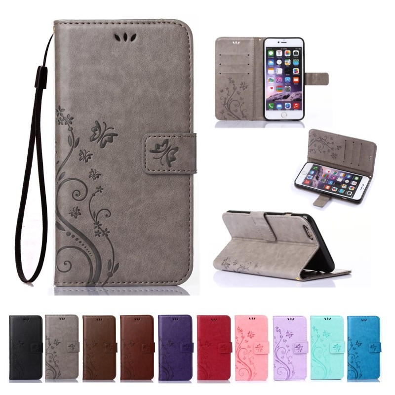 For Apple iPhone 7 4.7 inch Classical Embossed Beautiful Pattern Stand Wallet Leather Case For iPhone 7 Mobile Phone Bag(China (Mainland))