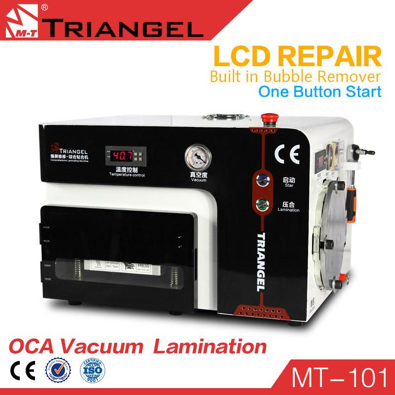 LCD Repair Machine Built-in Pump 5in1 LCD Vacuum Laminating Machine Bubble Remove For Iphone Samsung(China (Mainland))