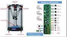 3d printer impressora 3d Delta Rostock Mini pro RepRap with LCD Controller DIY Kit Free 1