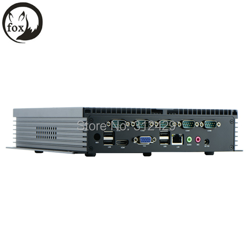 IPC-NFD10 Industrial Linux Embedded mini PC with RS232, X86 fanless embedded mini box pc 12V HDMI(China (Mainland))