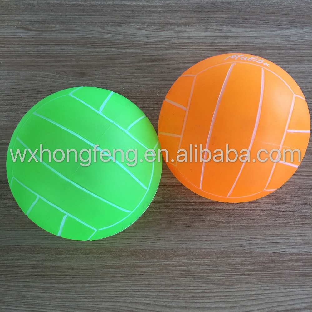 High quality PVC inflatable toy volleyball ball/pvc inflatable beach ball/ volleyball/ toy ball,a set of 3(China (Mainland))
