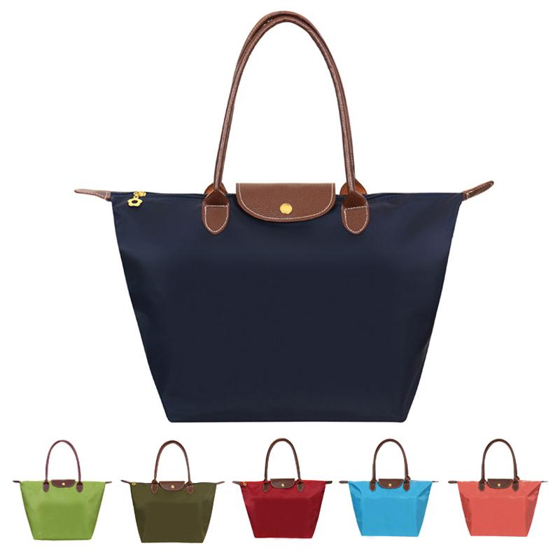 high quality nylon dumplings package tote bag women bag folding handbags famous brand large capacity beach bag bolsa feminina(China (Mainland))