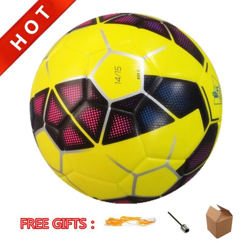 In Stock Hot Sale Premier League Match Ball Official Size 5# High Quality PU Laminated Soccer Ball Football Ball Anti-Slip(China (Mainland))