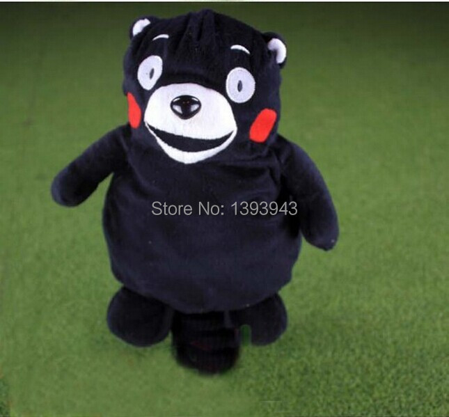 1pcs Wholesale high quality shy bear golf driver head cover wood headcover large ( serve wood )(China (Mainland))