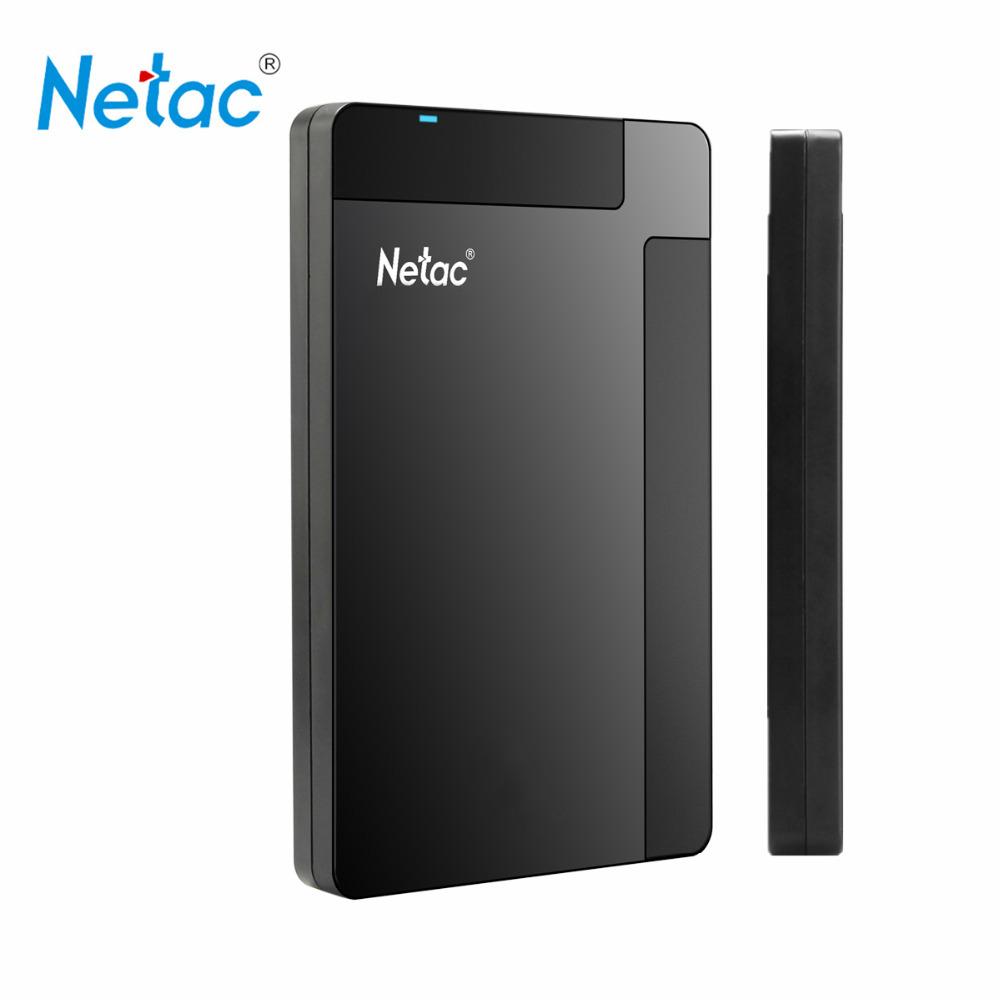Original Netac K218 External Hard Drive 1TB 500GB HDD USB 3.0 Externo Disco HD Disk Storage Devices Laptop Desktop Hard Disk 1tb(China (Mainland))