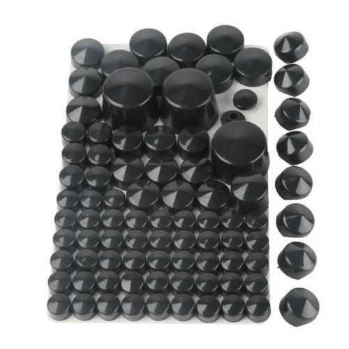 Купить НОВЫЙ ABS Болт Toppers Caps Набор Для 1984-2006 Harley Softail Twin Cam Black