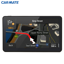 2016 Best Android 4.4 Car GPS Navigation Quad-Core 8GB WIFI FM 7 inch Capacitive screen Navigators automobile Map Free Update(China (Mainland))
