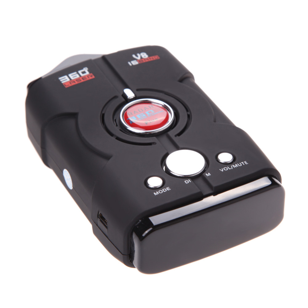 New V8 Car Speed Laser Radar Detector GPS Voice Alert Electronic Dog High Quality Free Shipping(China (Mainland))