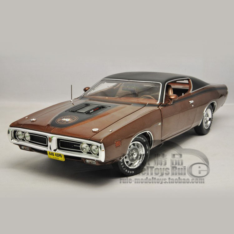 1:18 Autoworld DODGE CHARGER SUPER BEE 1971 Dodge Charger vehicle model