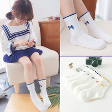 Spring Students Bowknots Socks Baby Calcetines Leg Warmer Kids Summer Cotton Baby Socks 10 Pairs/Lot Wholesale