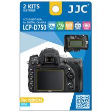 Jjc LCP-D750 pro display lcd monitor in policarbonato guard film screen protector copertura per nikon d750 dslr camera(China (Mainland))