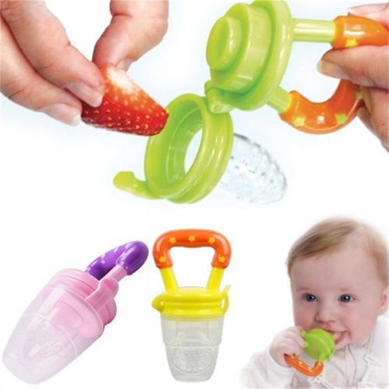 1 PC novo mamilo alimentos frescos Nibbler leite mamadeira alimentação alimentador de garrafas de segurança do bebê sino 3(China (Mainland))