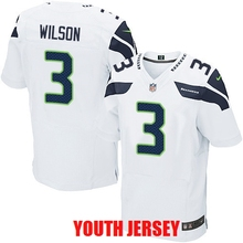 Seattle Seahawk Jimmy Graham Tyler Lockett Kam Chancellor Russell Wilson For YOUTH KIDS(China (Mainland))