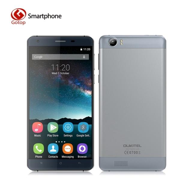 Оригинальный OUKITEL K6000 Android 5.1 смартфон MT6735P 1280 x 720 2 ГБ ОЗУ 16 ГБ ПЗУ мобильный телефон 5.5 дюйма 6000 мАч 4G LTE сотовой телефон