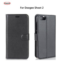Buy YINGHUI Doogee Shoot 2 Shoot2 Case Luxury Flip Leather Back Cover Phone Accessories Bags Skin Cases Coque Doogee Shoot 2 for $3.35 in AliExpress store