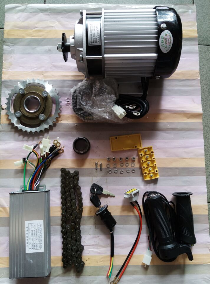 750W 48v gear motor DIY kit , electric bike conversion kit,light electric tricycle kit(China (Mainland))
