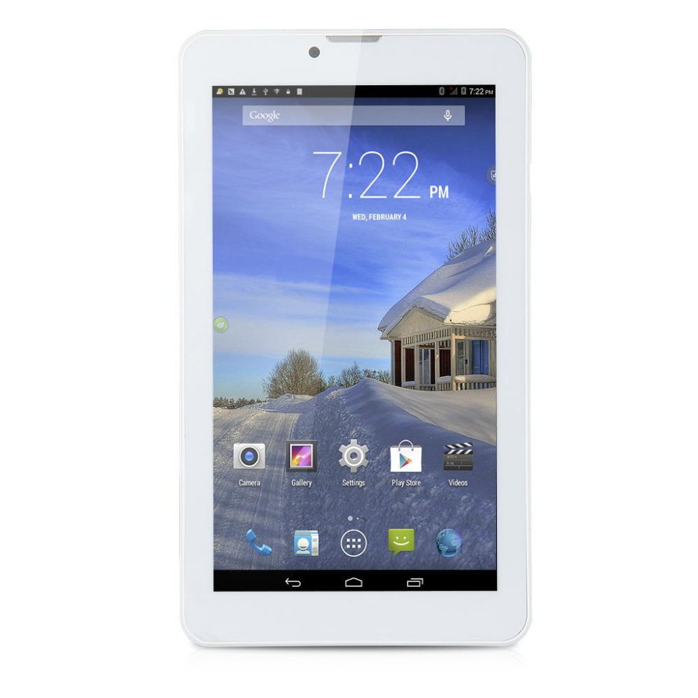Excelvan Dual SIM Phone Tablets Android 4.4 7inch MTK6572 ROM 8GB 3G Dual Camera Dual Standby Bluetooth GPS Tablet PCs(China (Mainland))