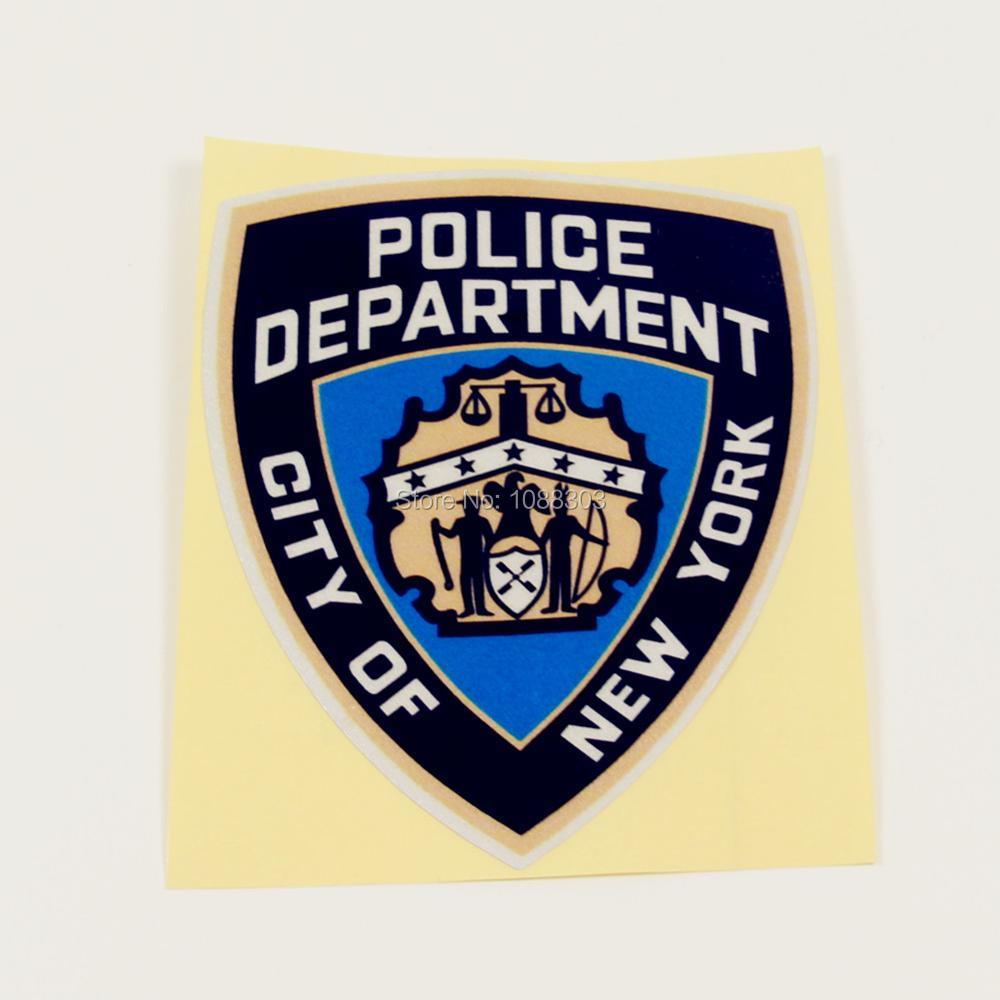 Popular Police Decals Stickers - 66.7KB