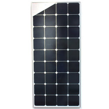 hot sale120W solar panel with glass frame, Sun Power cells, for solar home system with 0.9M cable.