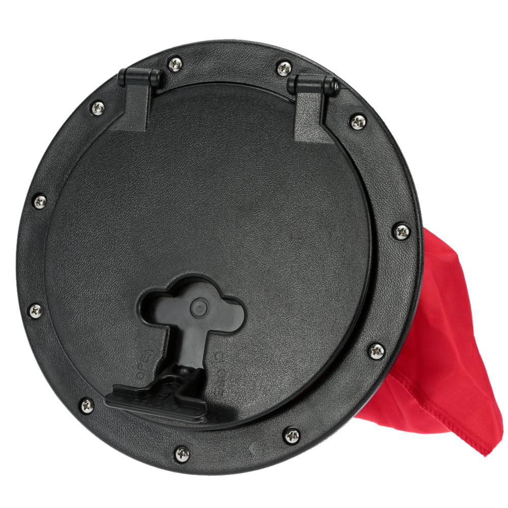 Kayak Accessories Marine Out Deck Plate Cover 25cm Outer Diameter Plastic Access Boat Round(China (Mainland))