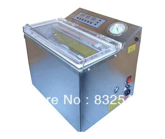 single vacuum chamber machine DZ300 vacuum packing machine for food,Dry cargo medicine sausage sea food and vegetable fruit(China (Mainland))