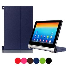 universal 8 Colors Magnetic Ultra Slim PU Leather Case Smart Protective Cover Pro for Lenovo YOGA 2-830F 8'' Tablet e-Books PC(China (Mainland))