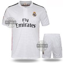 Football World Cup Soccer Jersey 14 15 soccer training suit short sleeve soccer jerseys set shirt+short plus size(China (Mainland))