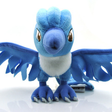 "Pokemon Character Plush Toy 7"" Pokemon Articuno Plush Toy Pocket Monster Stuffed Animals Toys Doll for Kids Gift Free Shipping(China (Mainland))"