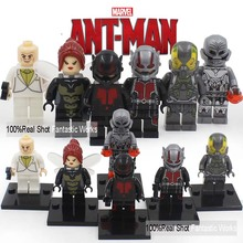 2016 Marvel Legoes The Avengers Minifigures Fantastic 4 Guardians of the Galaxy X-Men Captain America 3 Civil War blocks Figures(China (Mainland))