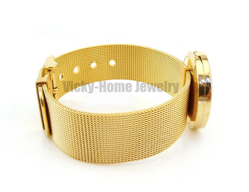 VH-PDL157-18 Diffuser Locket Bracelet