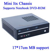 factor mini itx type chassis U.S. version of Mini-ITX motherboard small chassis Ion platform E350 Mini HTPC Car PC Black 1037U