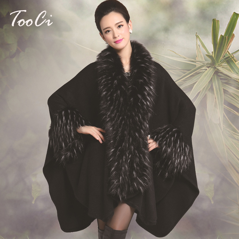 Black Fur Coat Promotion-Shop for Promotional Black Fur Coat on ...