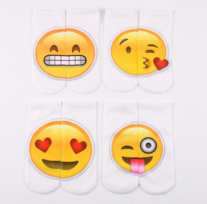 Women men kids smiling face socks Children cotton novelty Emoji Face Expression Socks Many Styles For Choose<br><br>Aliexpress