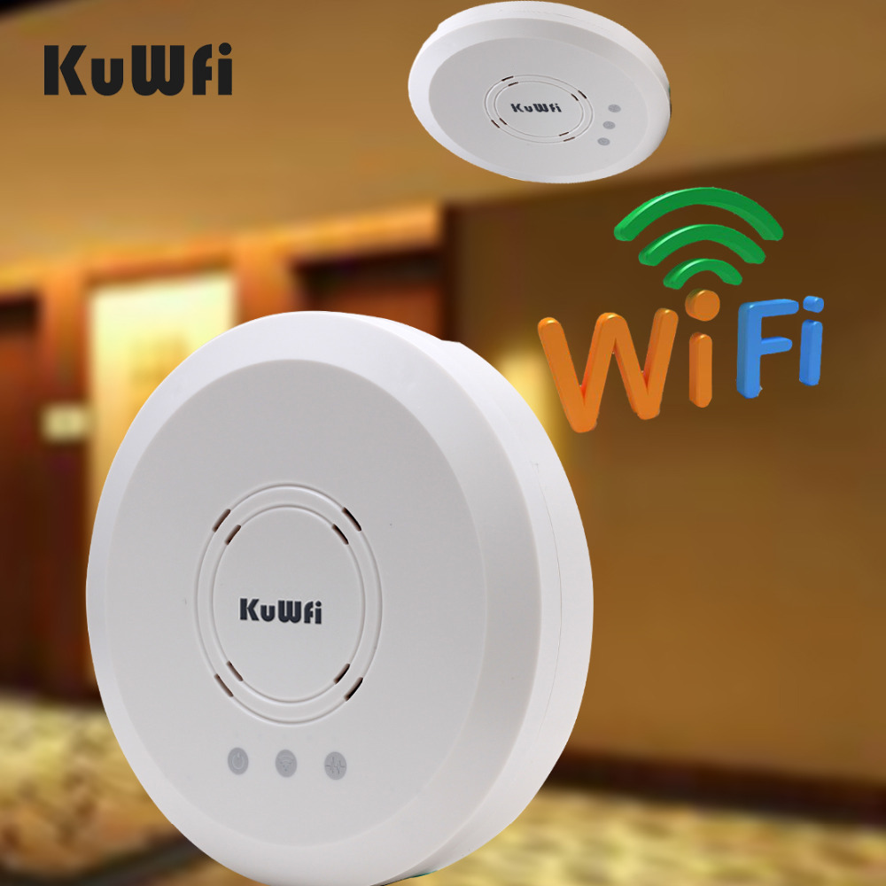 2.4Ghz 300Mbps Indoor Ceiling Access Point AP Router Wifi Repeater 1000mW Wireless Bridge with 24V POE Support 60 users to 1KM(China (Mainland))