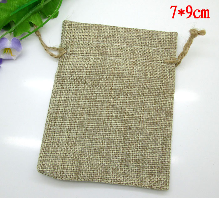 Critical new product 10pcs paper bag Jute sack packages decoration for wedding party gift bags candy Drawstring handbag(China (Mainland))