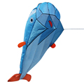 3D Huge Dolphin Kite Fly Parafoil Kite Outdoor Sport Dolphin Flying Kites Kids Outdoor Toy Easy