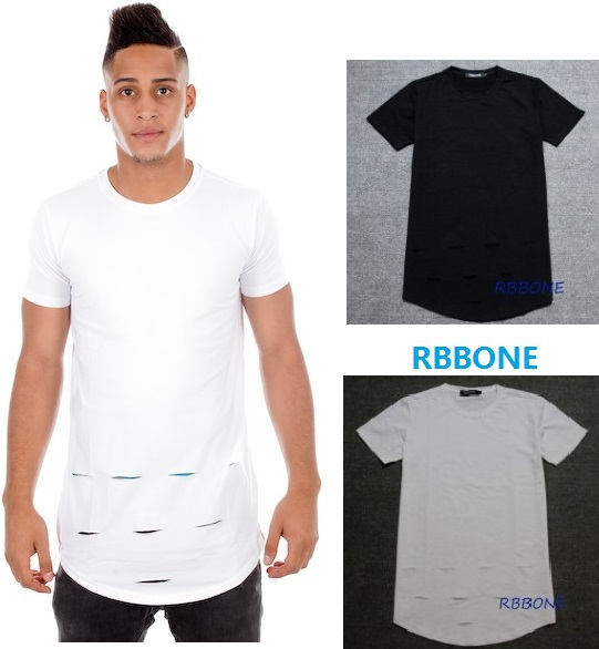 Mens Black Ripped Tee Promotion-Shop for Promotional Mens Black ...