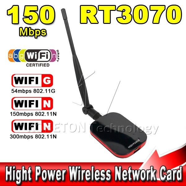 Speed N9000 free internet Network Long Range USB WiFi LAN Adapter 150Mbps with high power wifi antenna(China (Mainland))