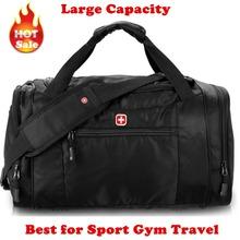 Famous Brand Designer Large Capacity Gym Bag Mens Duffel Workout Sport Bag Travel Carry on Tote Bag Athletic Shoulder Waterproof